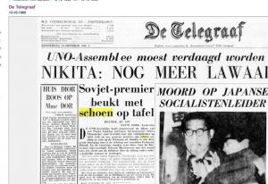 De Telegraaf 13.10.1960 (naar Delpher)