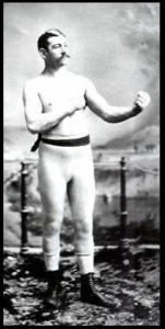 "J.L. Sullivan ""bare-knuckle"" bokser (Wikipedia)"